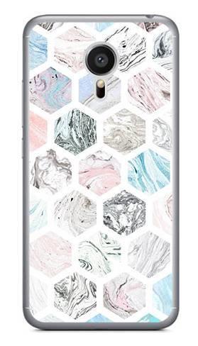 Foto Case Meizu MX5 kolorowe sześciokąty
