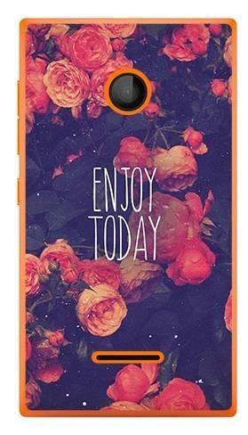 Foto Case Microsoft Lumia 435 enjoy today