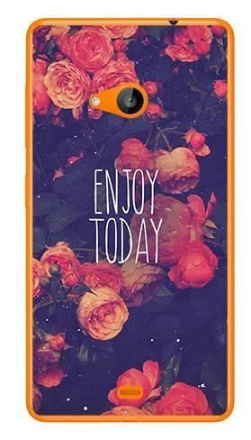 Foto Case Microsoft Lumia 535 enjoy today
