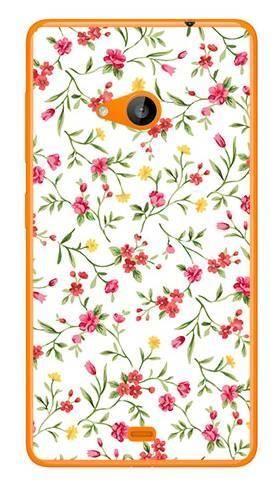 Foto Case Microsoft Lumia 535 kwiatuszki