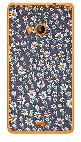 Foto Case Microsoft Lumia 540 stokrotki