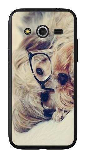 Foto Case Samsung GALAXY CORE LTE G3518 pies w okularach