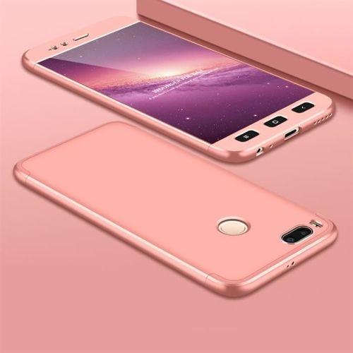 GKK 360 Protection Case etui na całą obudowę przód + tył Xiaomi Mi A1 / Mi 5X różowy