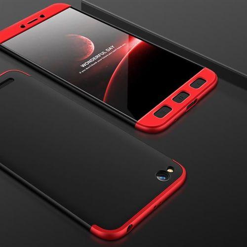 GKK 360 Protection Case etui na całą obudowę przód + tył Xiaomi Redmi 5A czarno-czerwony