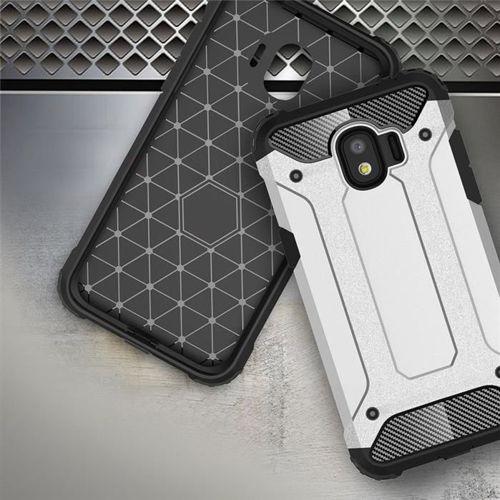 Hybrid Armor pancerne hybrydowe etui pokrowiec Samsung Galaxy J2 Pro J210 złoty