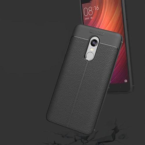 Litchi Pattern elastyczne etui pokrowiec Xiaomi Redmi Note 4X / 4 (Snapdragon global version) szary