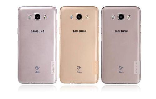NILLKIN NATURE TPU Samsung Galaxy J7 (2016) brązowy