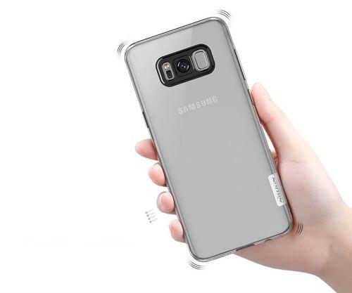 Nillkin Nature żelowe etui pokrowiec ultra slim Samsung Galaxy S8 G950 przezroczysty