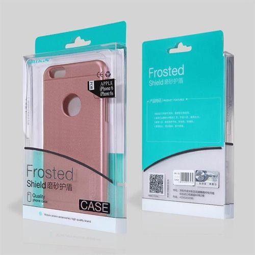 Nillkin Super Frosted Shield wzmocnione etui pokrowiec + folia Huawei Honor 9 Lite złoty