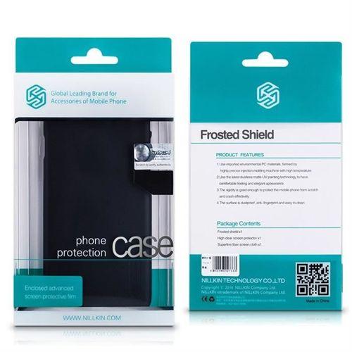 Nillkin Super Frosted Shield wzmocnione etui pokrowiec + folia Huawei P Smart czarny