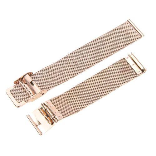 Opaska pasek bransoleta Milanese band z zapięciem Samsung Galaxy WATCH 42mm rose gold