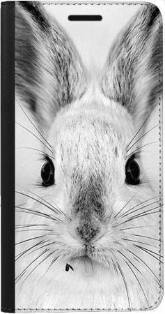 Portfel DUX DUCIS Skin PRO Czarno-biały zając na Samsung Galaxy A70