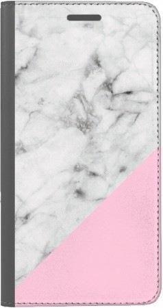 Portfel DUX DUCIS Skin PRO biały marmur z pudrowym na Xiaomi Redmi Note 5a