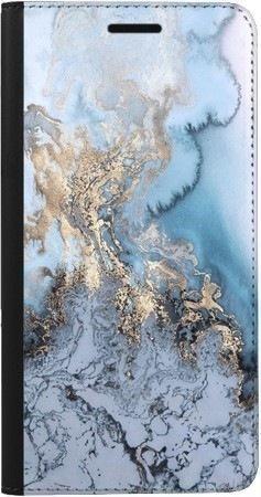Portfel DUX DUCIS Skin PRO błękitny marmur na Samsung Galaxy A70
