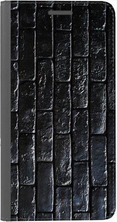 Portfel DUX DUCIS Skin PRO czarne cegły na Huawei Honor 7x