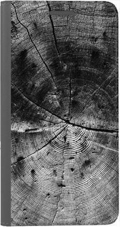 Portfel DUX DUCIS Skin PRO czarne drewno na Huawei Honor 7x