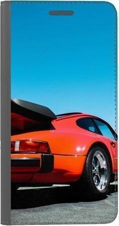 Portfel DUX DUCIS Skin PRO czerwony samochód na Huawei Honor 7x