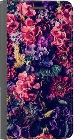 Portfel DUX DUCIS Skin PRO kwiatowa kompozycja na Huawei Honor 7x