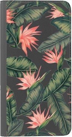 Portfel DUX DUCIS Skin PRO liście z kwiatami na Huawei Honor 9 Lite