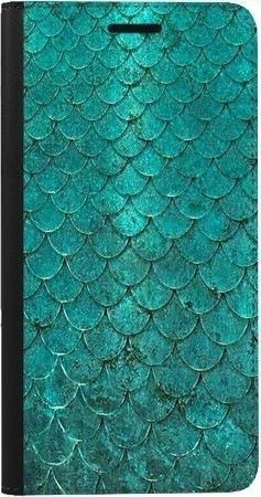 Portfel DUX DUCIS Skin PRO turkusowa rybia łuska na Samsung Galaxy A70