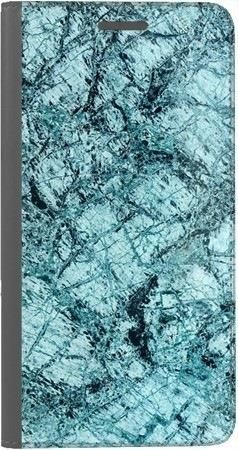 Portfel DUX DUCIS Skin PRO turkusowy marmur na Huawei Honor 7x