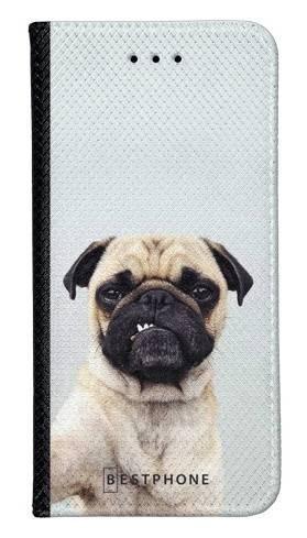 Portfel Wallet Case LG K40 grumpy mops