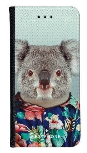 Portfel Wallet Case LG K40 koala w koszuli