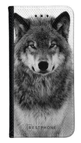 Portfel Wallet Case LG K40 spokojny wilk