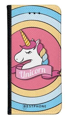 Portfel Wallet Case LG K40 unicorn