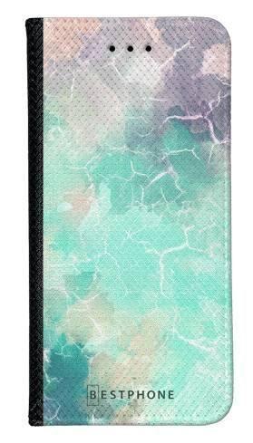 Portfel Wallet Case Samsung Galaxy A10e zielony kamień