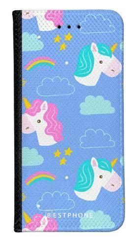 Portfel Wallet Case Samsung Galaxy A20e jednorożce