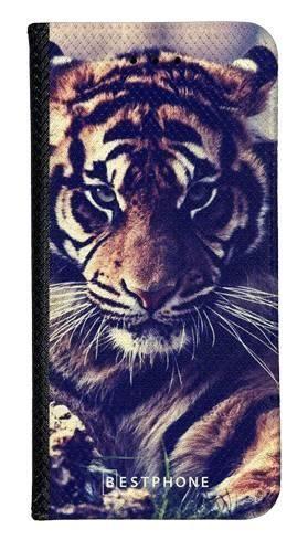 Portfel Wallet Case Samsung Galaxy A20e mroczny tygrys
