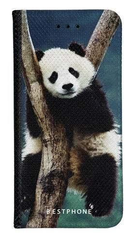Portfel Wallet Case Samsung Galaxy A20e panda na drzewie
