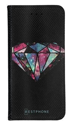 Portfel Wallet Case Samsung Galaxy A5 kolorowy diament