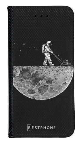 Portfel Wallet Case Samsung Galaxy A60 astronauta i księżyc
