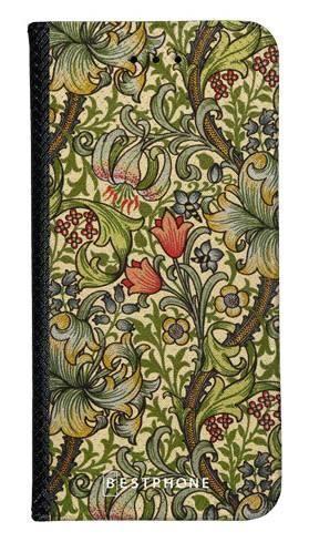 Portfel Wallet Case Samsung Galaxy A60 kwiatowa kompozycja