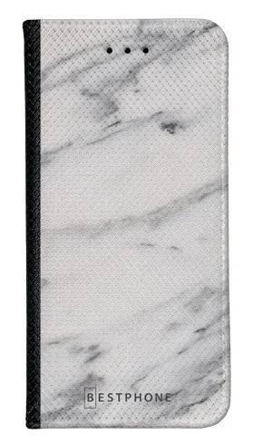Portfel Wallet Case Samsung Galaxy A60 szary marmur