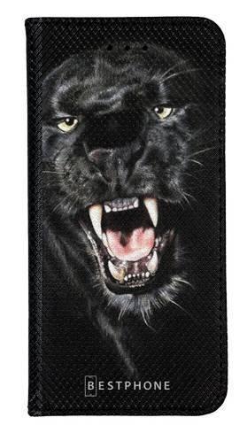 Portfel Wallet Case Samsung Galaxy Core Prime groźna puma