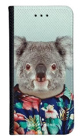 Portfel Wallet Case Samsung Galaxy Core Prime koala w koszuli