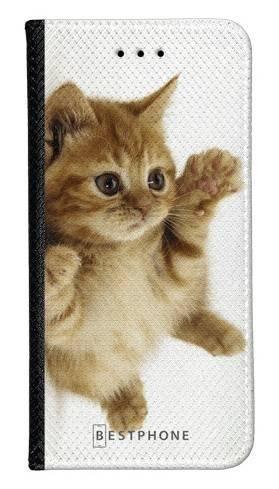 Portfel Wallet Case Samsung Galaxy Core Prime kociak