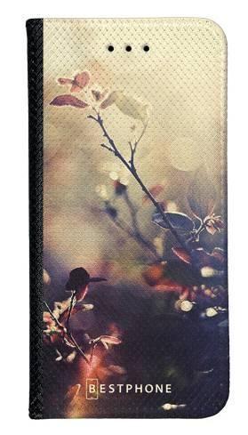 Portfel Wallet Case Samsung Galaxy Core Prime kwiatki w słońcu