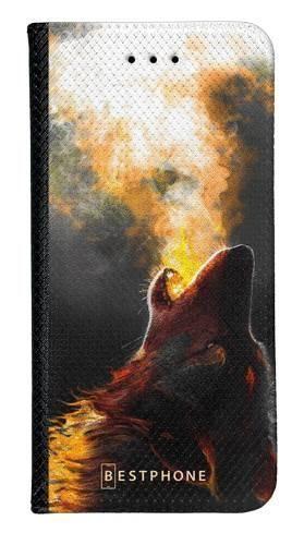 Portfel Wallet Case Samsung Galaxy Core Prime mroczny jeleń