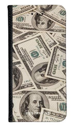 Portfel Wallet Case Samsung Galaxy Note 10 dollar bills