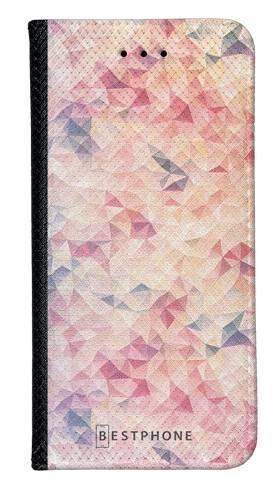 Portfel Wallet Case Samsung Galaxy Note 10 różowe trójkąciki