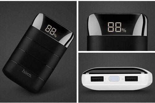 Power Bank Powerbank 10000mAh Hoco Domon B29 bateria zewnętrzna czarny