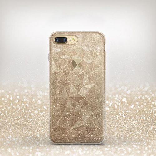 Ringke Air Prism Glitter błyszczące żelowe etui pokrowiec 3D iPhone 8 Plus / 7 Plus szary (APAP0012-RPKG)
