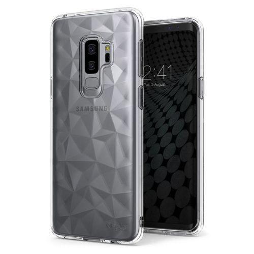 Ringke Air Prism designerskie żelowe etui pokrowiec 3D Samsung Galaxy S9 Plus G965 szary (APSG0024-RPKG)