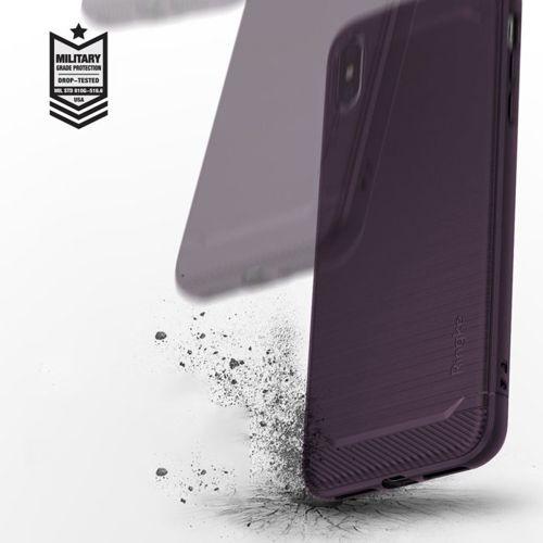 Ringke Onyx wytrzymałe etui pokrowiec iPhone XS Max czarny (OXAP0012-RPKG)