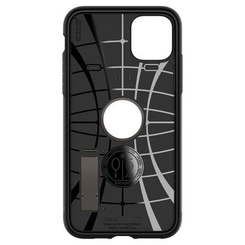SPIGEN SLIM ARMOR IPHONE 11 PRO MAX GUNMETAL + Szkło SPIGEN FC