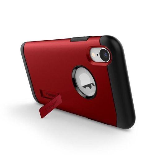 SPIGEN SLIM ARMOR IPHONE XR MERLOT RED